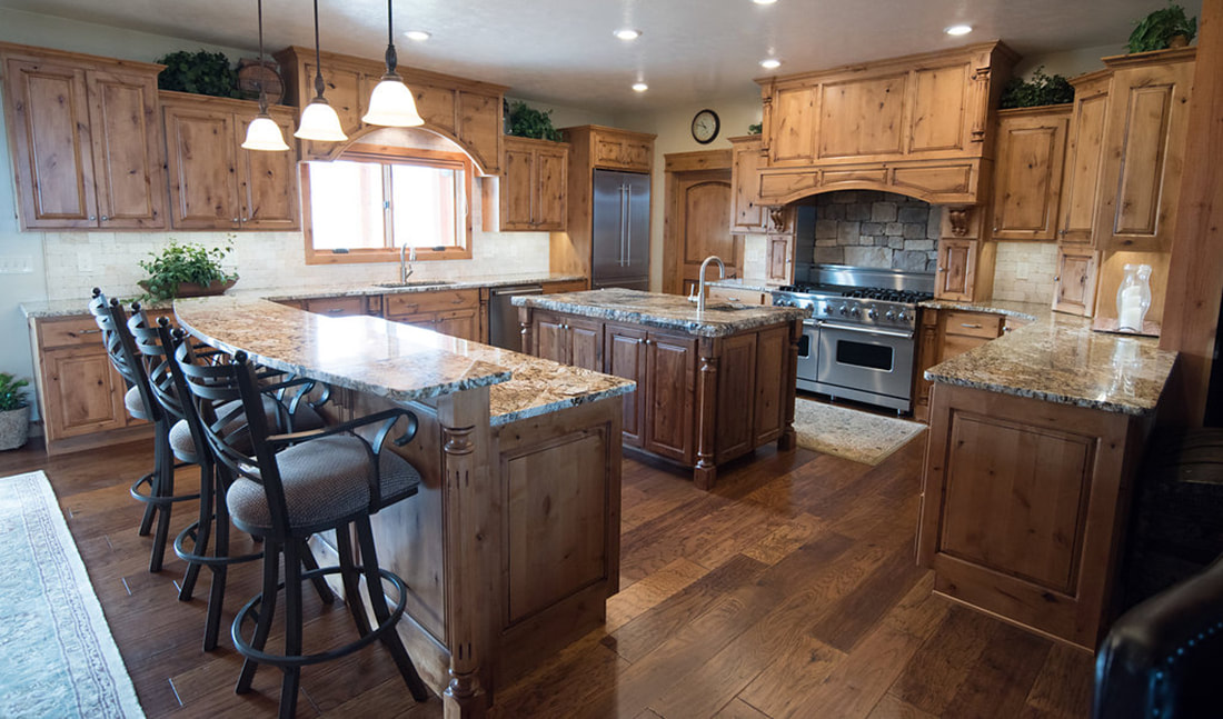 Functional country kitchen